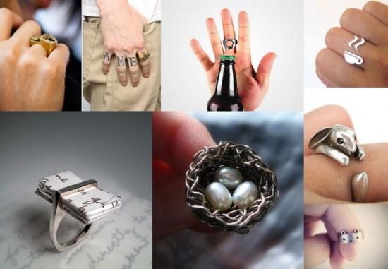 Unique And Unusual Ring Designs FunCage