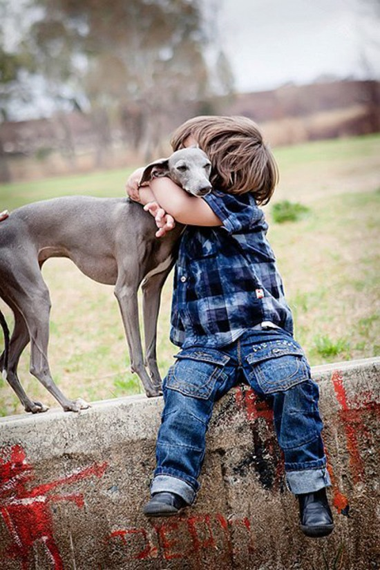 25 Cute Photos Of Babies And Dogs Sharing A Special Moment