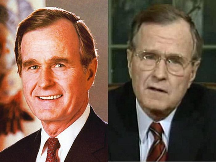 Image result for George W Bush before and after president