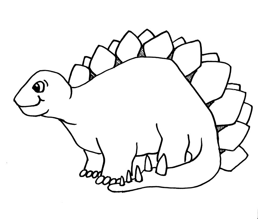 40 Outstanding Dinosaur Coloring Pages