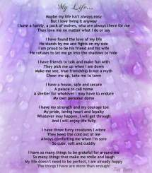 Friends And Family Spiritual Poems - Year of Clean Water