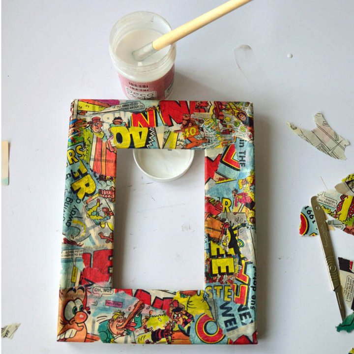 Decoupage Picture Frame – Fun Crafts To Do At Home