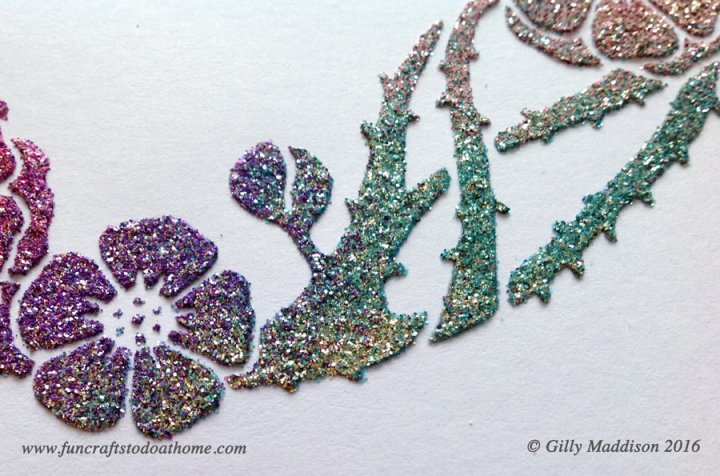Sweet Poppy stencils
