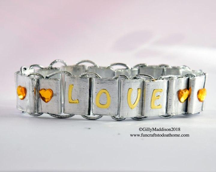 Faux Silver Bracelet