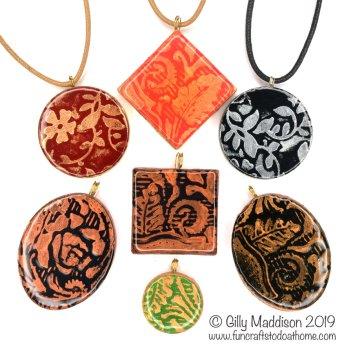 DIY pendants