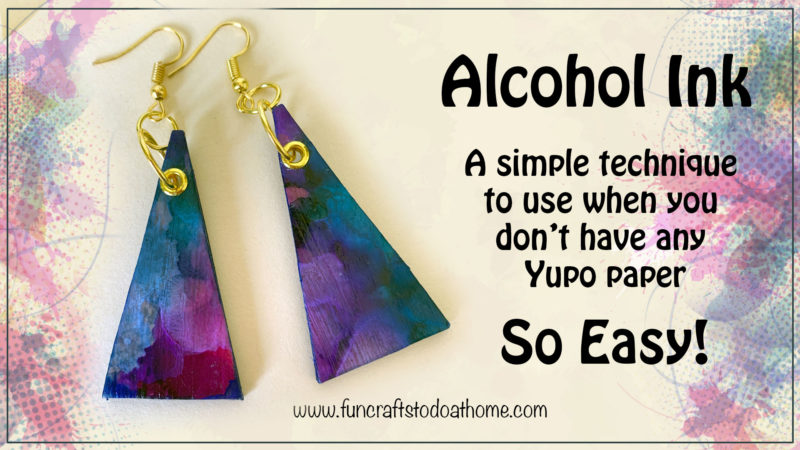 how to make alcohol ink pendants