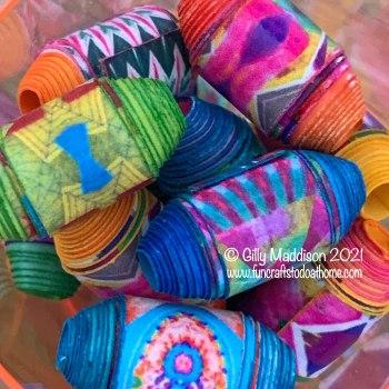 BoHo Paper Beads