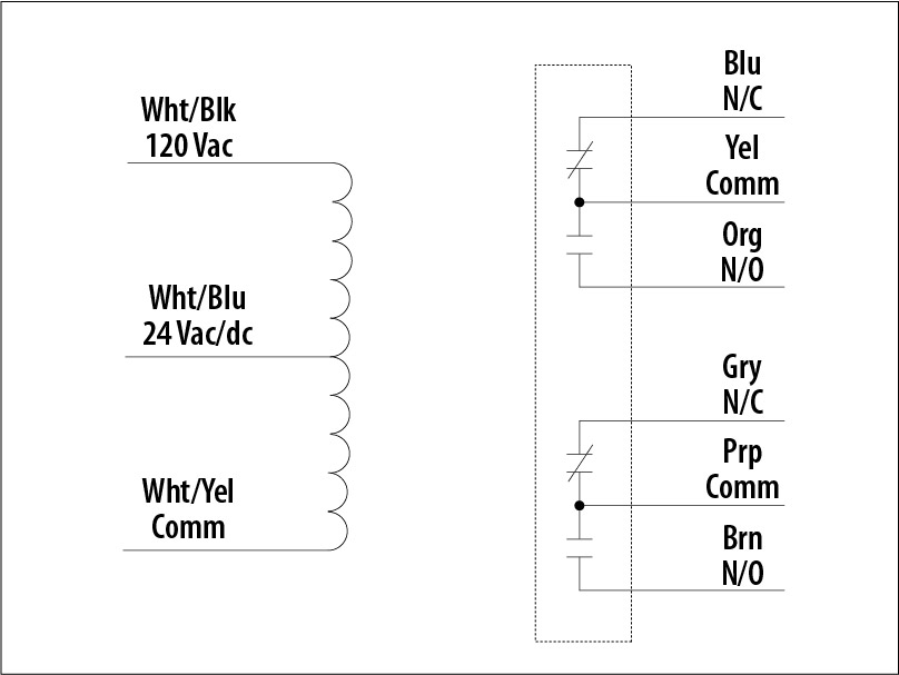 double pole relay wiring diagram thermistor symbol electrical details functional devices inc rib2401d category relays