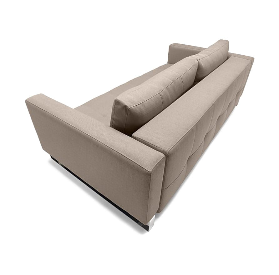 folding chair nepal glider kijiji cassius deluxe excess sofa bed (queen size) classic gray by innovation
