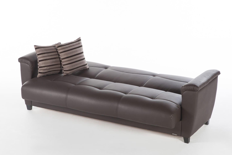 aspen convertible sectional storage sofa bed jong psv helmond sport sofascore santa glory dark brown by