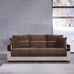 Best Sofa Bed For Living Room Wall Prints Au Bennett Brown Convertible By Istikbal Sunset Furniture