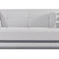 Light Gray Sectional Sofa Modern Sets Online Cornella Bed By Mobista