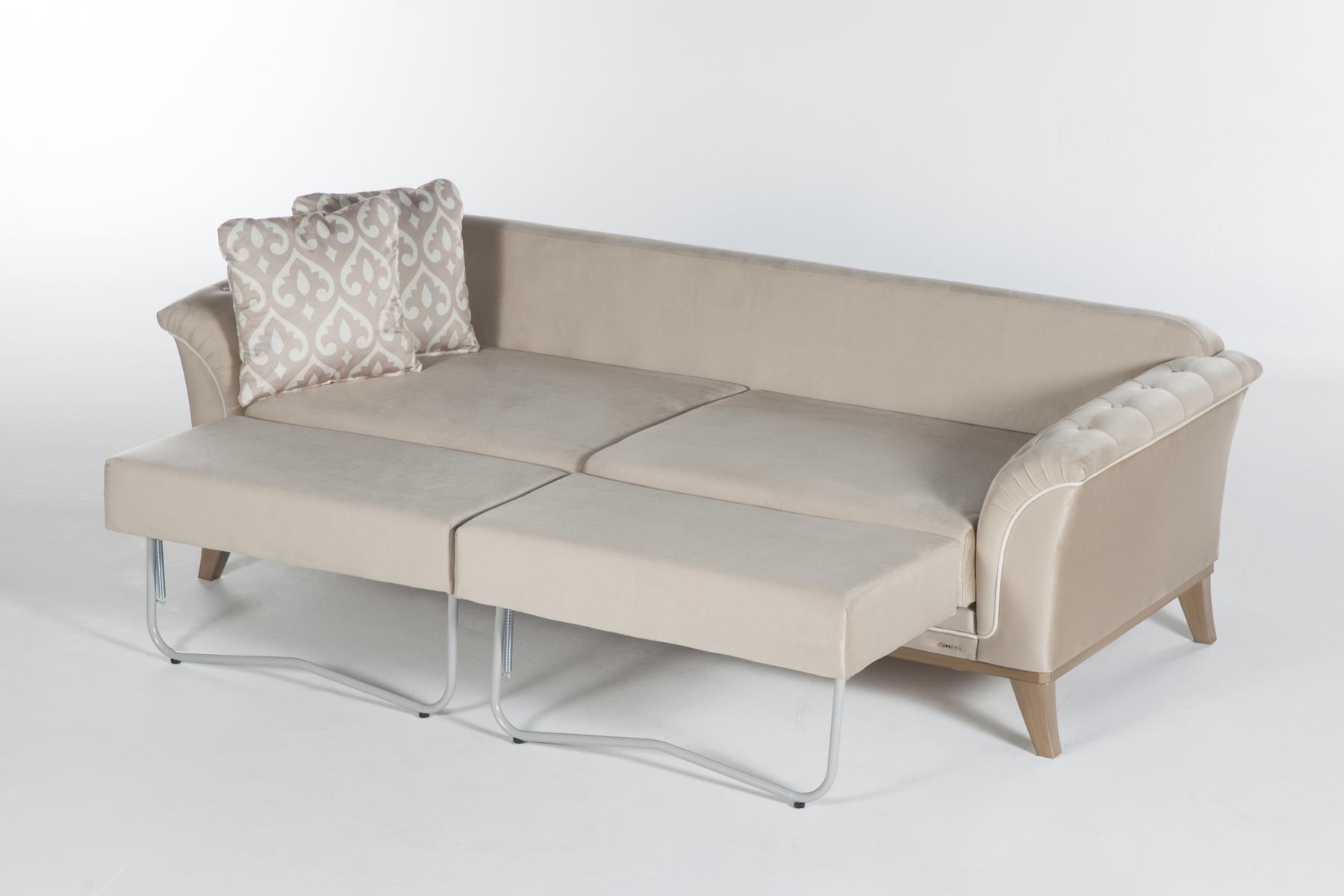 vision convertible sofa bed sleeper with storage by istikbal kroehler dekora zero vizon sunset