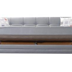 Leatherette Sofa Durability Modern Blueprints Etro Prestige Dark Gray Bed By Mobista