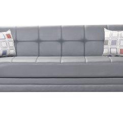 Leatherette Sofa Durability Italian Leather Sectional White Etro Prestige Dark Gray Bed By Mobista