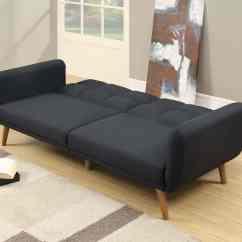 Sectional Sofas Nyc Showroom Cheap Comfy Sofa Beds Uk Poundex F7858 2 Pcs Grey Line Like Fabric