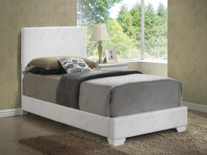 Twin Upholstered Bed With Mattress Set Free Delivery In Nyc Glory Furniture