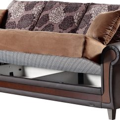 Empire Furniture Sofa Wooden Sofas Uk Idaho Brown Fabric Bed By Usa