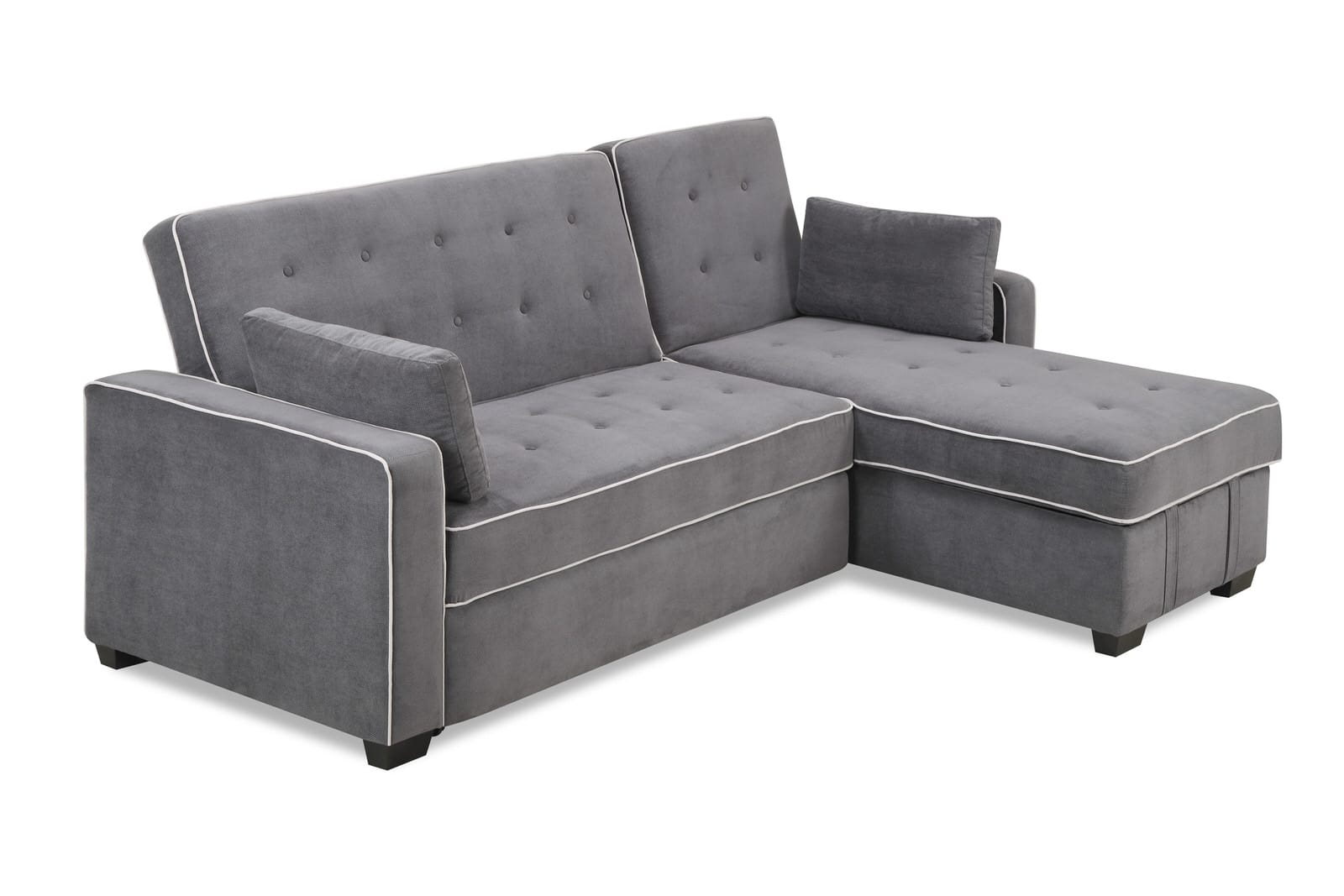 king size sofa sleepers bar augustine bed moon grey by serta lifestyle