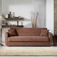 Floor Sofa Bed Cindy Crawford Home Sleeper Sample Miami Obsession Truffle