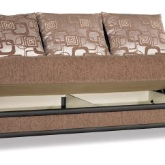 Euro Sofa Mondo Fuzzy Slipcover Modern Brown Convertible Bed By Casamode