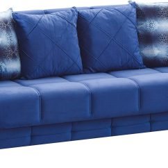 Blue Fabric Recliner Sofa 816 Modern Black And White Leather Sectional Montreal Bed By Empire Furniture Usa