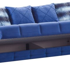 Blue Fabric Recliner Sofa Mart Springfield Mo Montreal Bed By Empire Furniture Usa