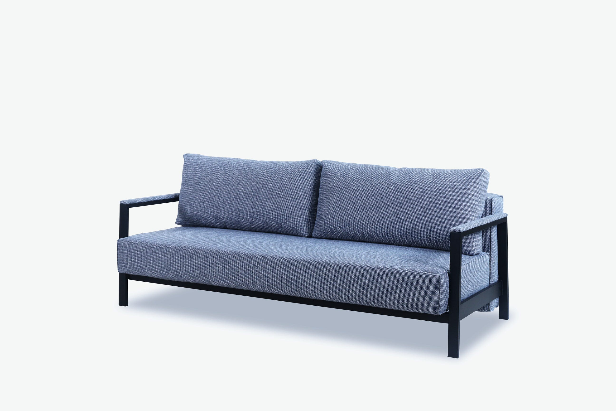 floor sofa bed round lounger sample 17 gray by new spec