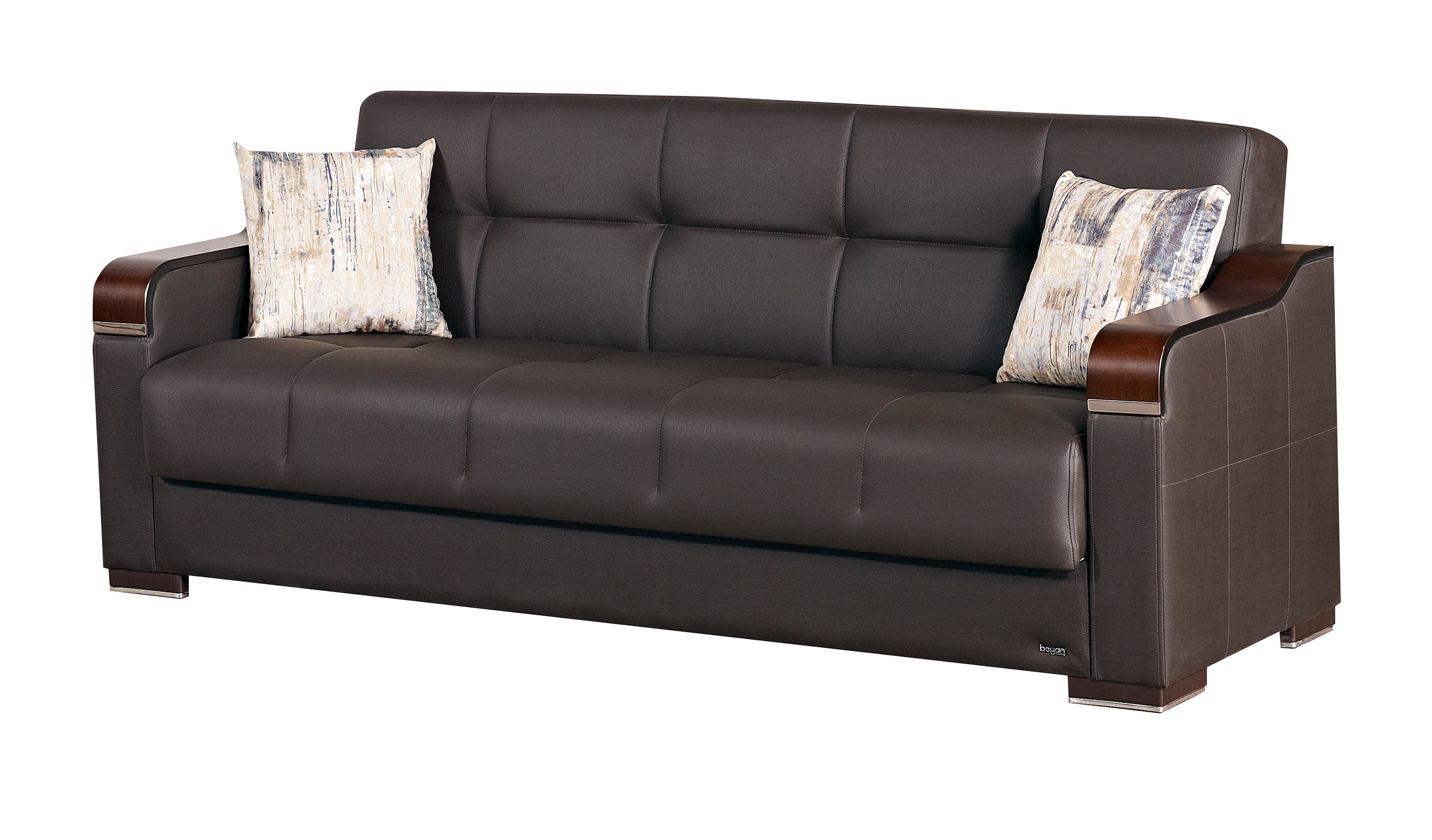 empire furniture sofa george smith sofas harrogate paramus dark brown fabric bed by usa