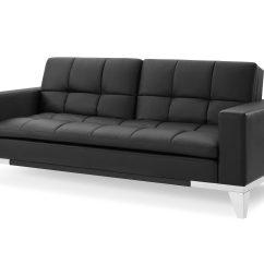 Serta Bonded Leather Convertible Sofa Green Chesterfield Velvet Review Home Decor