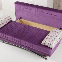 Purple Velvet Sleeper Sofa Indoor Wooden Swing Fantasy Corbin Convertible Bed By Sunset
