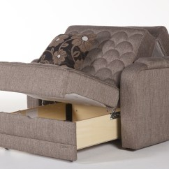 Chair And A Half Sleeper Recliner With Remote Control Verona Redeyef Brown By Istikbal Sunset