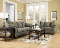 Darcy Sage Sofa Signature Design by Ashley Furniture