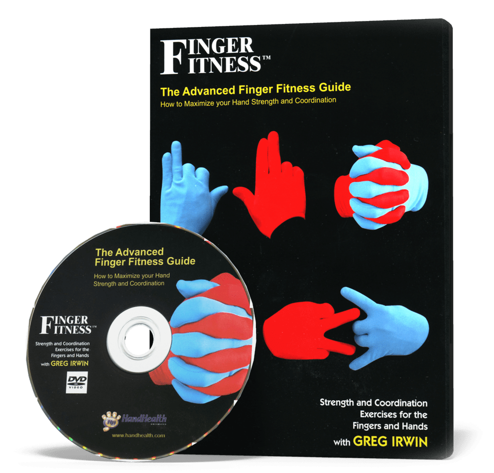 Finger Fitness Guide Book and Instructional DVD