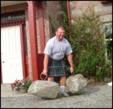 a stone lifter s dream come true scottish stone lifting