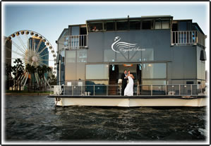 Crystal Swan Cruises  Swan River Cruises Party Boat Hire Perth Wedding Boat Cruises