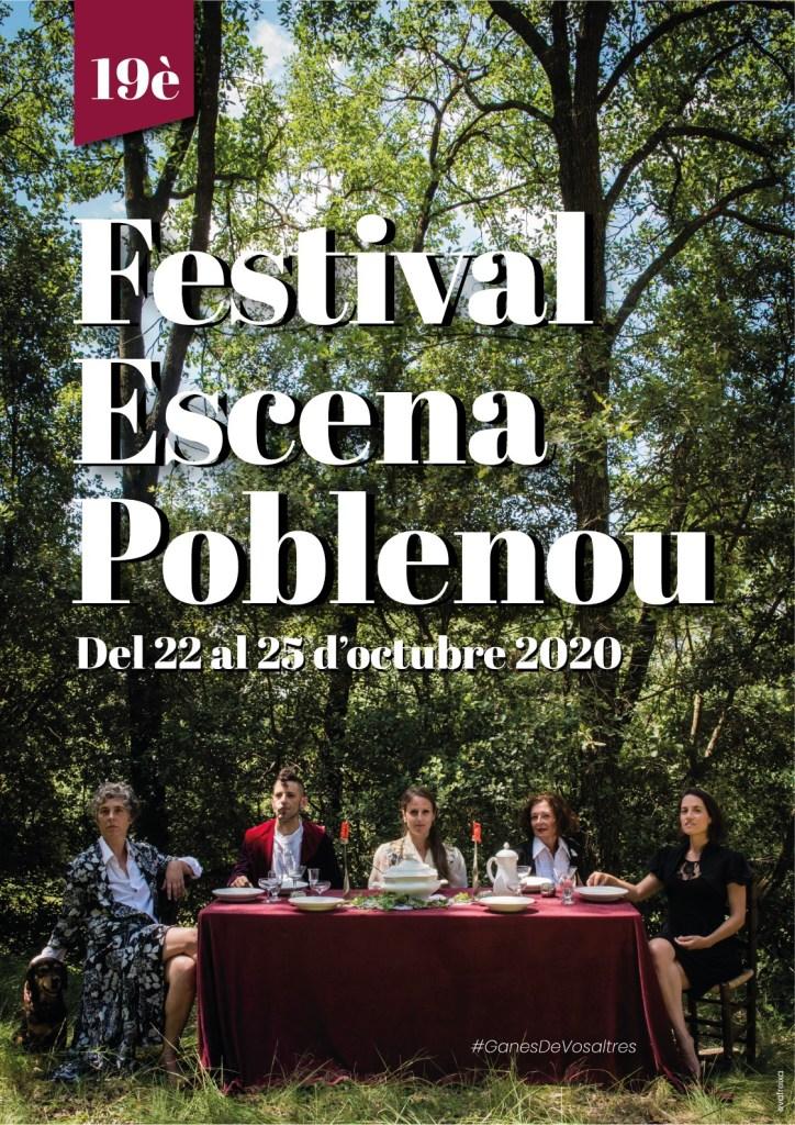 Cartelldel 19è Festival Escena Poblenou