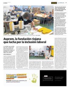 Fundación Asprem en prensa La Rioja.