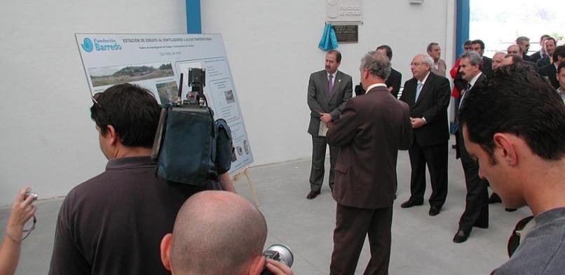 Inauguracion estación de ensayos de ventiladores a altas temperaturas