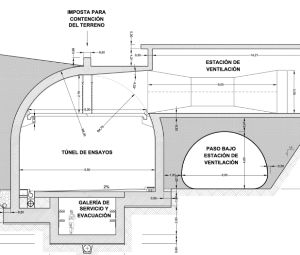 Diseño tunel San Pedro de Anes (Siero)