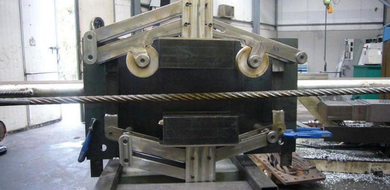 Nuevas aplicaciones y equipos para la realización de inspecciones de cables de acero, año 2010