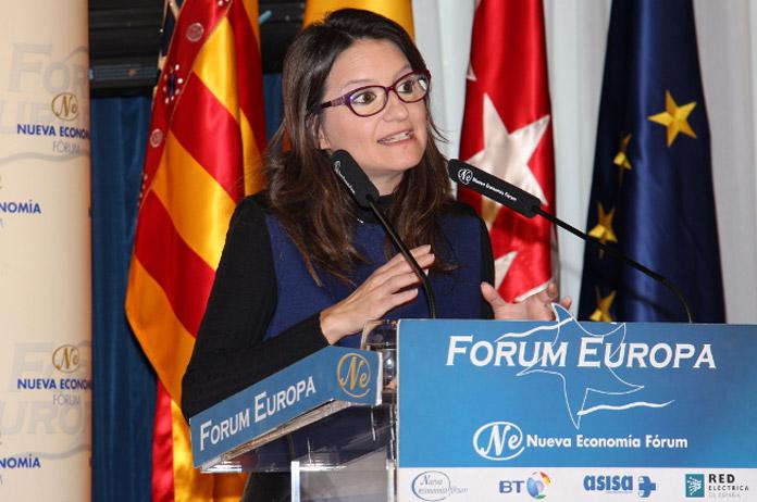 COMPROMIS Y MÓNICA OLTRA EN MADRID | FOTO: Nueva Economía Fórum