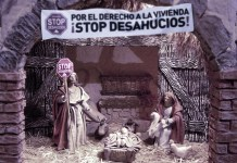 STOP desahucios portal de Belén