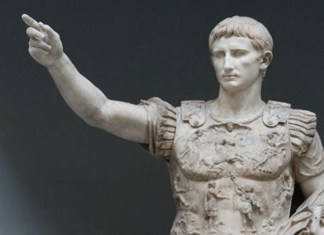 Escultura del Emperador Trajano