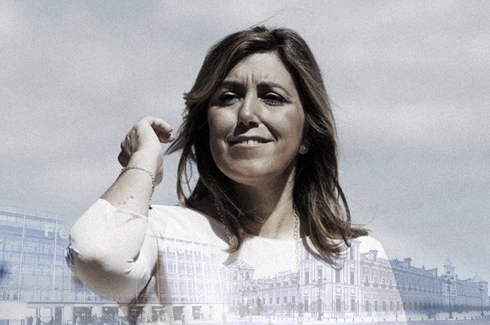 Susana Díaz de San Telmo a IFEMA y viceversa