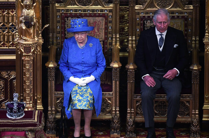 Apertura Parlamento Británico