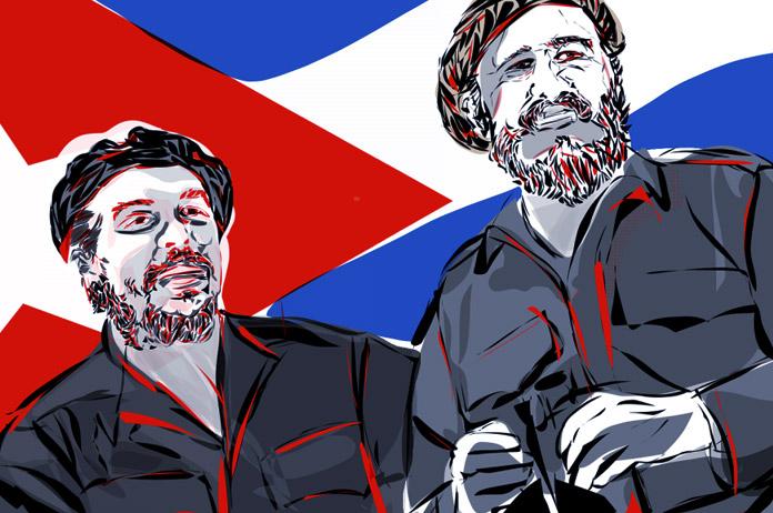 Cuba Fidel Castro y el Che Guevara