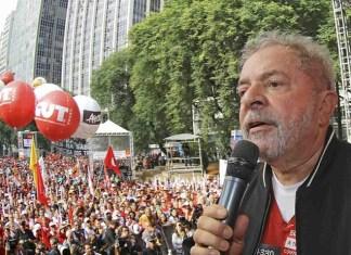 Lula da Silva, durante un mitin el 1º de mayo en Sao Paulo | Ricardo Stuckert – Instituto Lula