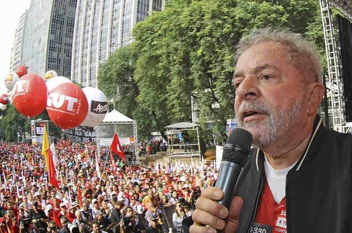Lula da Silva, durante un mitin el 1º de mayo en Sao Paulo   Ricardo Stuckert – Instituto Lula