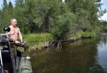 Putin pesca